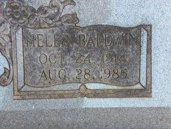 Helen <i>Baldwin</i> Benson