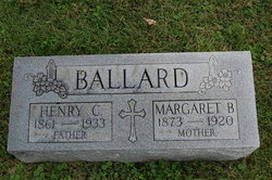 Margaret Bell <i>Coombs</i> Ballard
