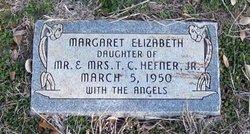 Margaret Elizabeth Hefner