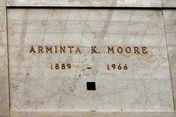 Arminta K Moore