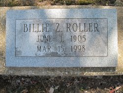 Jessica Zoe Billie <i>Shedenhelm</i> Roller