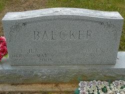Ellen Jean <i>Schenck</i> Baecker