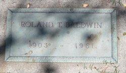 Roland Tyler Baldwin