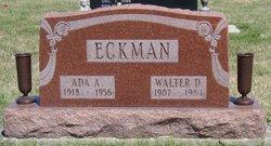 Walter D Eckman