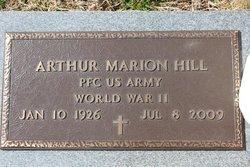 Arthur Marion Buck Hill