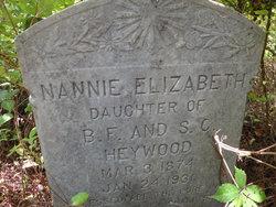Nannie Elizabeth Heywood