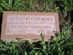 Nelle Ruth <i>Childers</i> Johnston