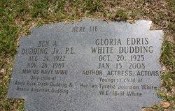 Gloria Edris <i>White</i> Dudding