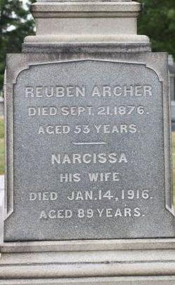 Narcissa <i>Caswell</i> Archer