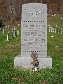 Elizabeth <i>Hammonds</i> Amburgey