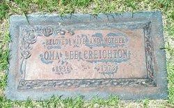 Oma Lee <i>McCleskey</i> Creighton