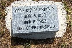 Annie <i>Bishop</i> McDavid