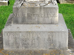 Cornelia Viola Nellie <i>Battle</i> Lewis