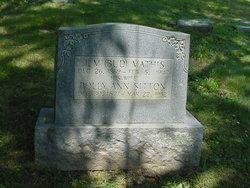 Thomas Marion Bud Mathis
