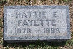 Hattie Ellen <i>Quiett</i> Fayette