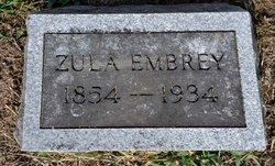 Missouri Ann Zulu <i>Jackson</i> Embrey