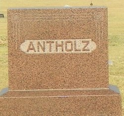 Adolph Fritz Antholz