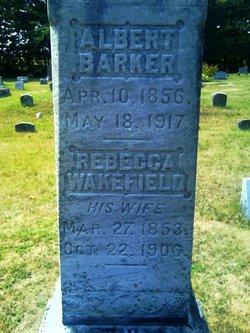 Rebecca <i>Wakefield</i> Barker