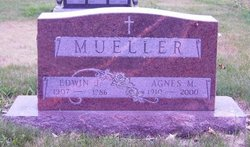 Agnes Marie <i>Loehr</i> Mueller