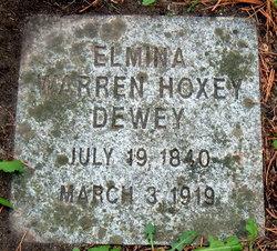 Elmina <i>Warren</i> Hoxey-Dewey