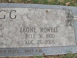 Iris Leone <i>Rowell</i> Hugg