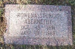 Rowena <i>Sturgis</i> Abernethy