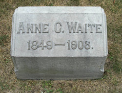 Anne C <i>Brainerd</i> Waite