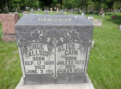 George W Allsop