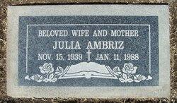 Julia <i>Baca</i> Ambriz