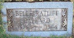 Belle <i>Ratliff</i> Ballard