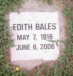 Edith Bales