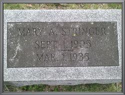 Mary A <i>Hinkle</i> Stringer