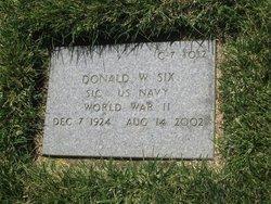 Donald W. Six