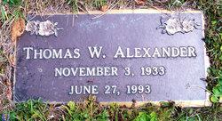 Thomas W Alexander