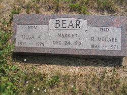 R. McCabe Bear
