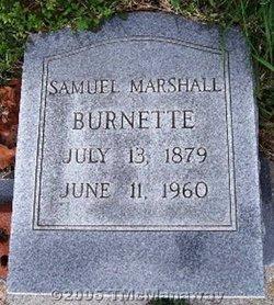 Samuel Marshall Burnette