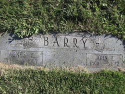 Agnes E Barry