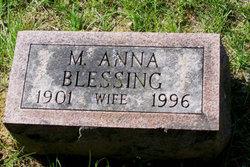 M. Anna <i>Blessing</i> Anthony