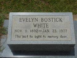 Evelyn <i>Bostick</i> White