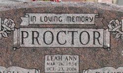 Leah Ann Proctor