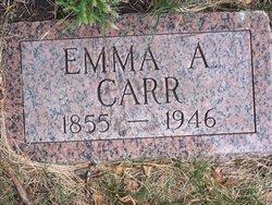 Emma A <i>Winegar</i> Carr