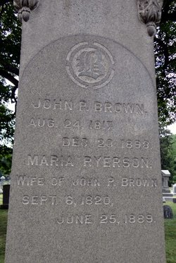 Maria <i>Ryerson</i> Brown