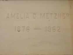 Amelia D Metzner
