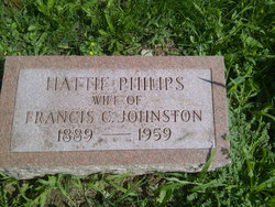 Hattie <i>Phillips</i> Johnston