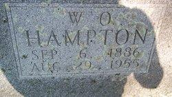 William Osker W.O. Hampton
