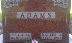 Ella M <i>Steinke</i> Adams