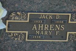 Jack D Ahrens