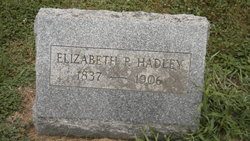 Elizabeth <i>Preston</i> Hadley