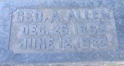 Geo A. Allen