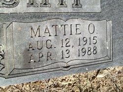 Mattie O. <i>Rowden</i> Blankenship